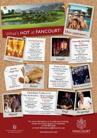 Festive Season - Fancourt Hotel